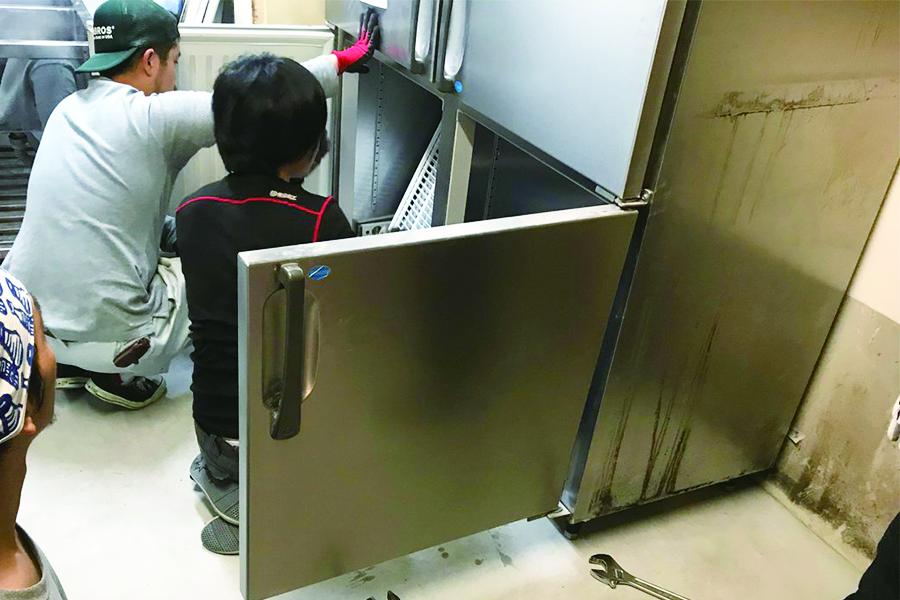 厨房機器回収4